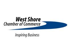 West Shore Chamber of Commerce logo.